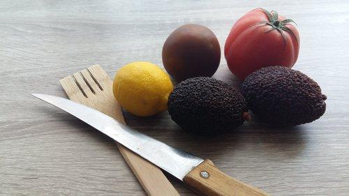 knife  food  healthy