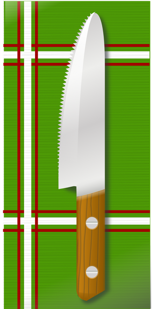 knife kitchen table