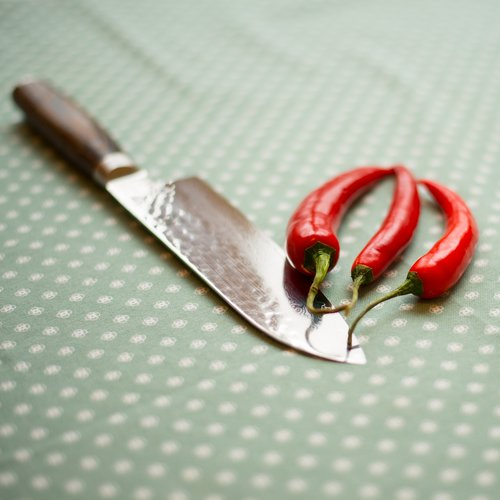 knife  table  peppers
