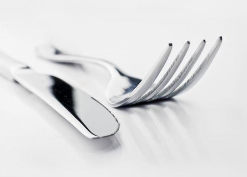 knife and fork table restaurant