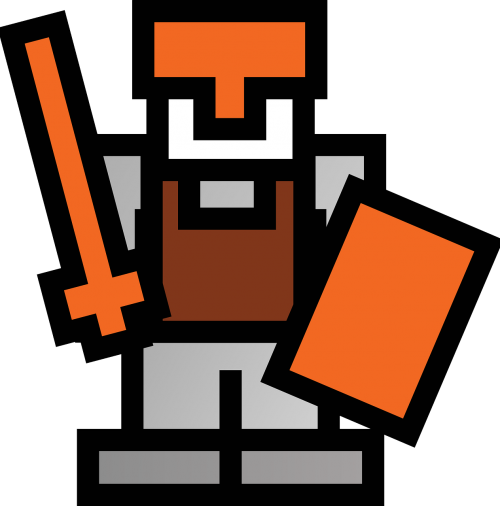 knight swordsman sword