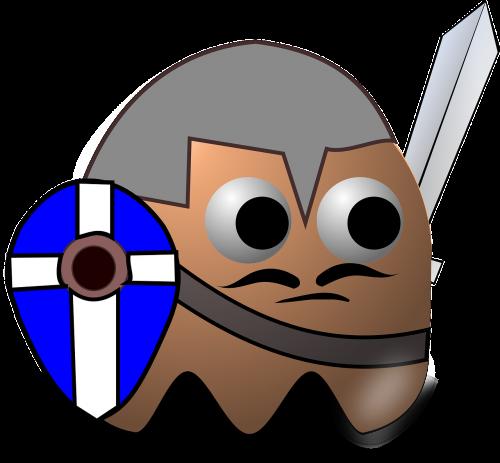 knight warrior pacman
