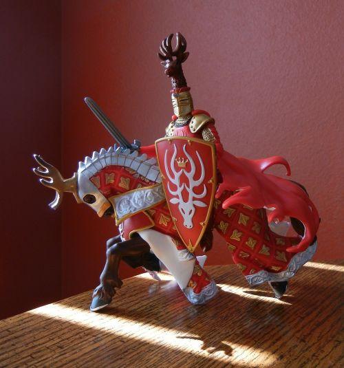 knight horse battle armour