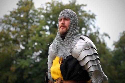 knight fencing armor