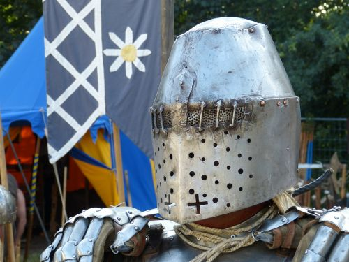 knight helm mask