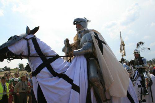 knight grunwald on horseback