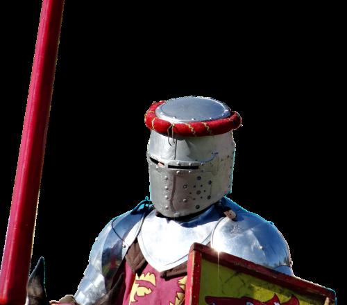 knight helm lance