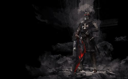 knight,middle ages,armor,crusader,knights templar background,shield,sword,warrior,evil