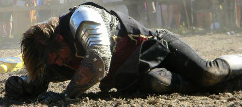 knight beaten medieval