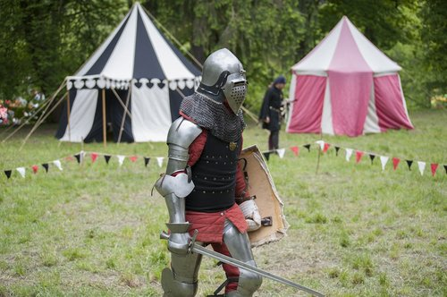 knight  helmet  sword