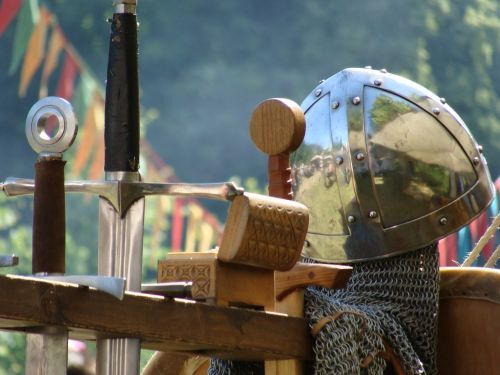 knight helm middle ages