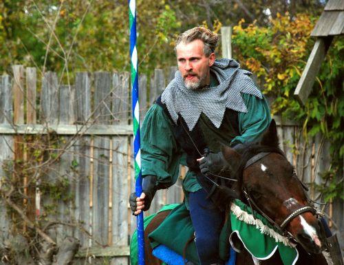 knight horse rider