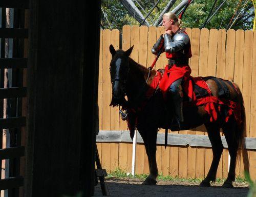 knight horse medieval