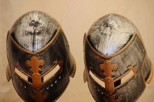 knight helmet middle ages knight