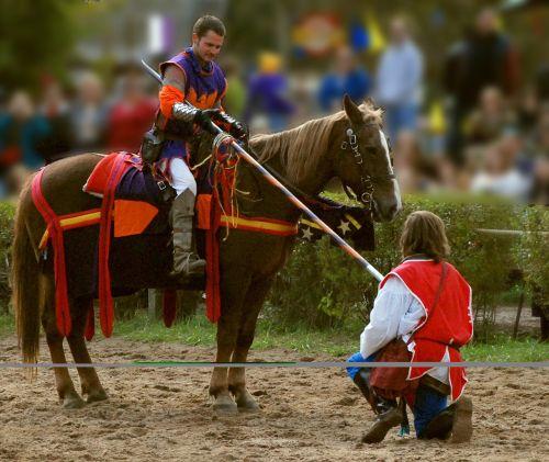 knights yield renaissance fair