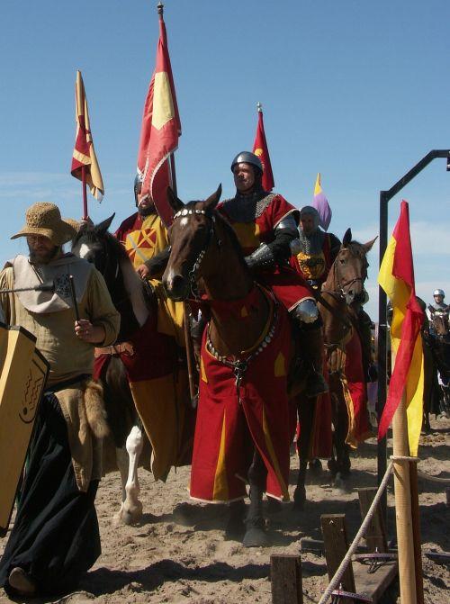 knights horse parade