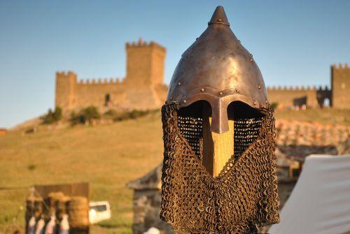 knight's helmet sudak and novy svet genoese fortress