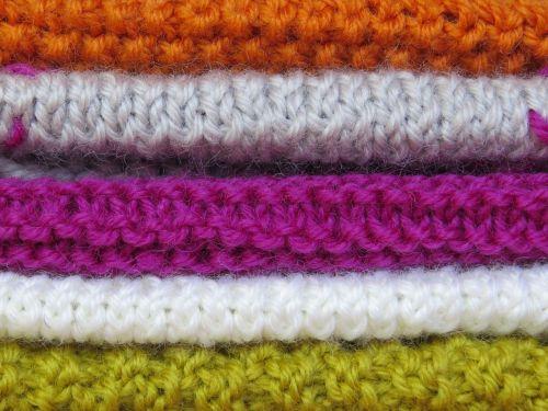 knit knitting pattern colorful