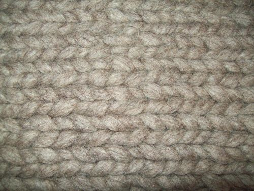 knit structure wool