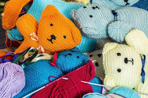 knitting handwork hobby
