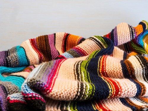 knitting  background  knitted blanket