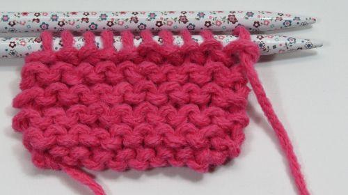 knitting wool pink