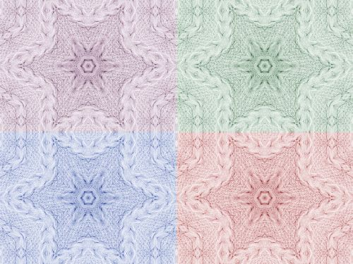 Knitting Backgrounds Collection