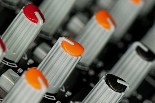 knobs mixer sound