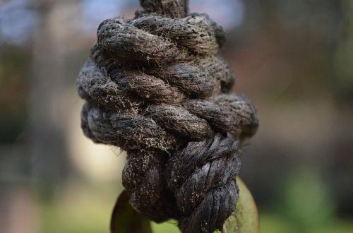 knot cordage fixing