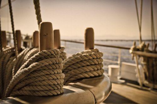 knots sea rope