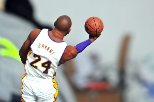 kobe bryant action figure basketball