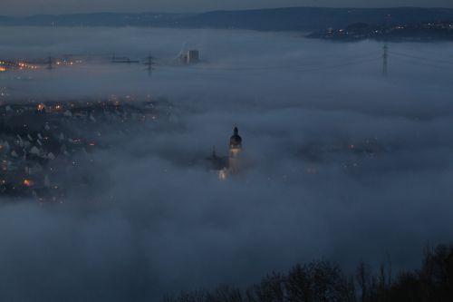 koblenz fortress night photograph