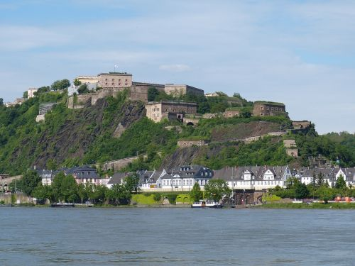 koblenz wall fortress