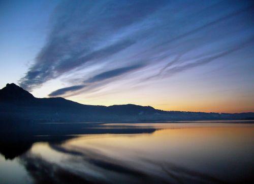 kochelsee lake waters