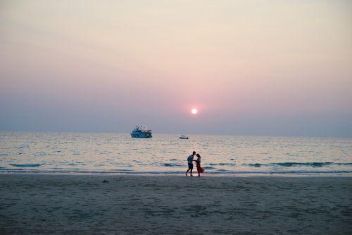 koh chang sunset beach