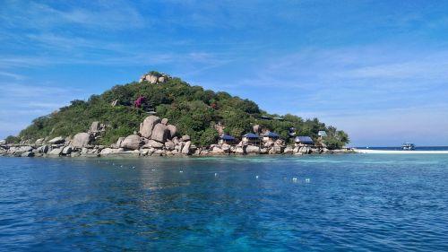 koh nang yuan island thailand