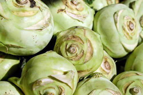 kohlrabi vegetables cabbage