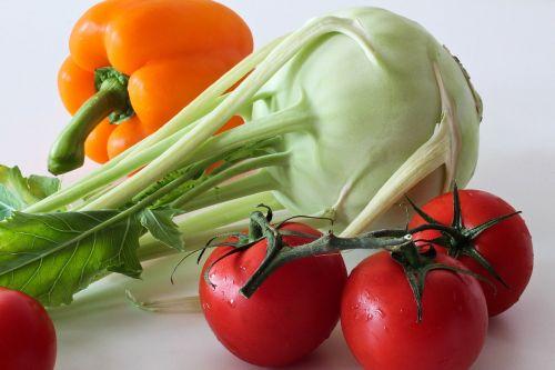 kohlrabi vegetables tomatoes
