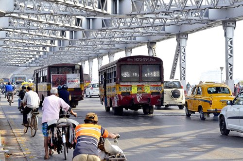 kolkata  bridge  india