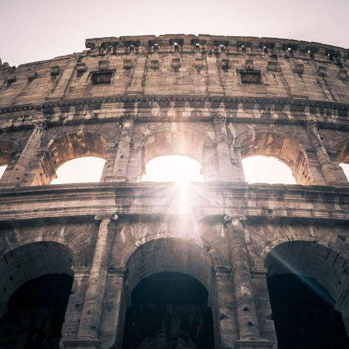 kolosseum rome architecture