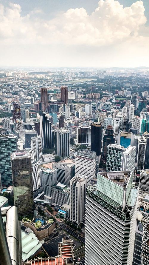 kong kuala skyline skyscrapers