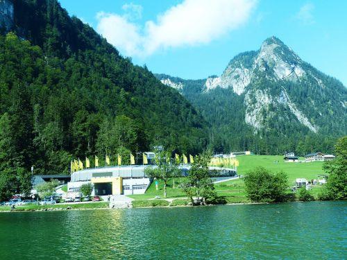königsee bobsled king lake berchtesgadener land