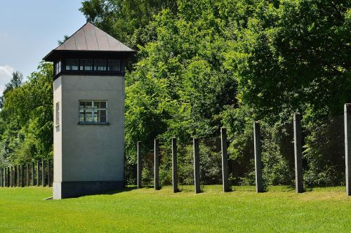 konzentrationslager dachau watchtower