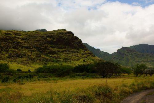 koolau mountains oahu hawaii