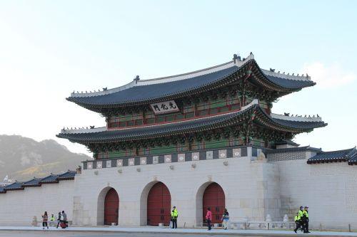 korea seoul gwanghwamun