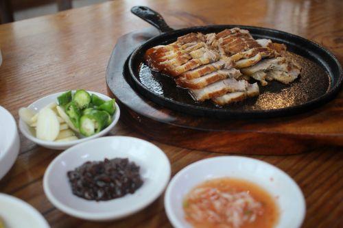 korean korean food pork