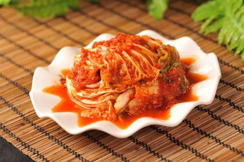 korean cabbage in chili sauce northeastern chinese cuisine hot sauce