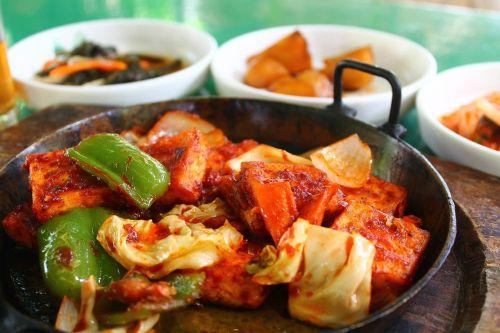 korean food korean dish dish