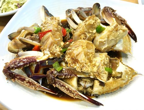 korean food soy crab side dish