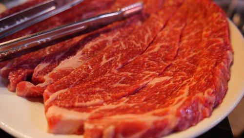 korean food  bbq  beef